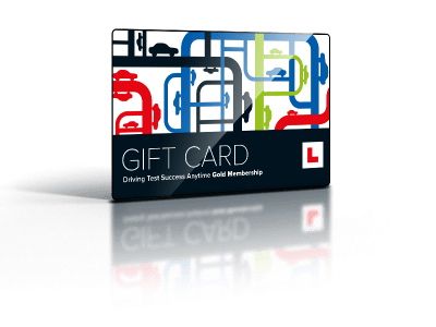 learning to drive gift card