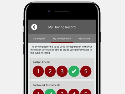 Learn to drive app