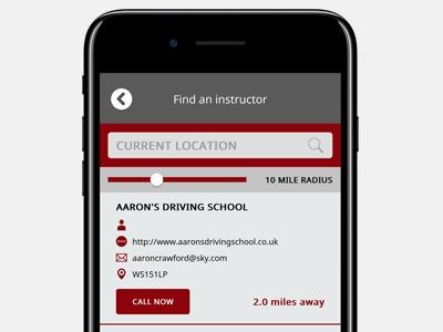 Learn to Drive App screenshot