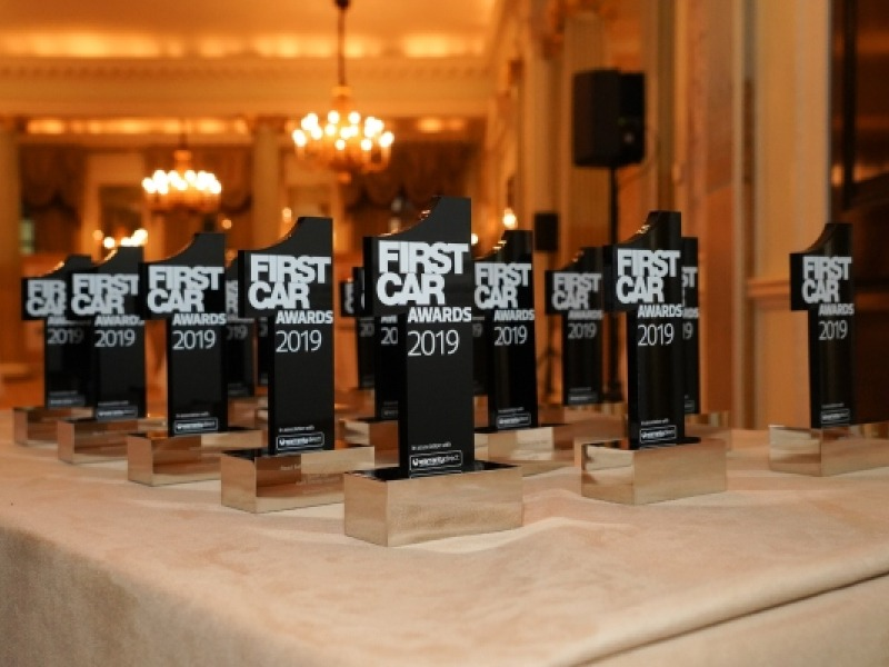 FirstCar's Award trophies