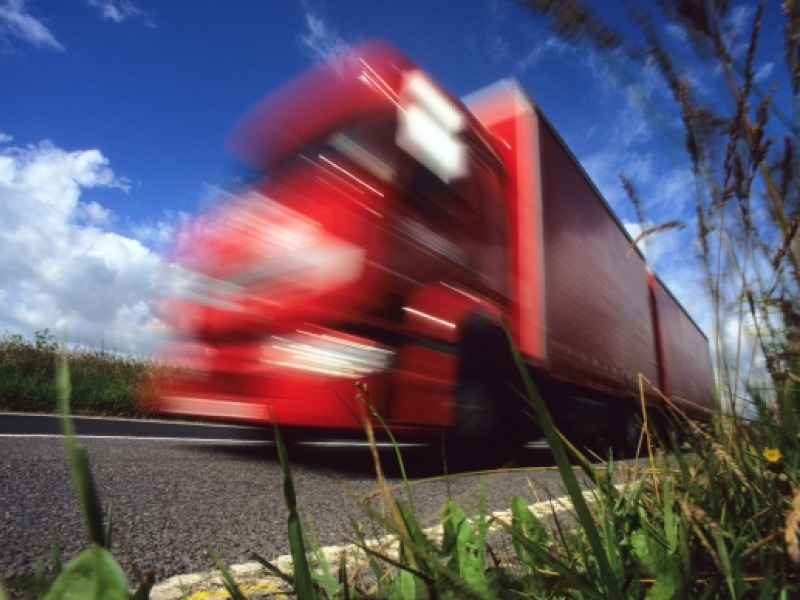 Red LGV Lorry Theory Test