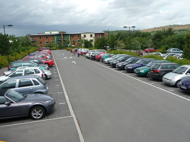 Park and ride car park