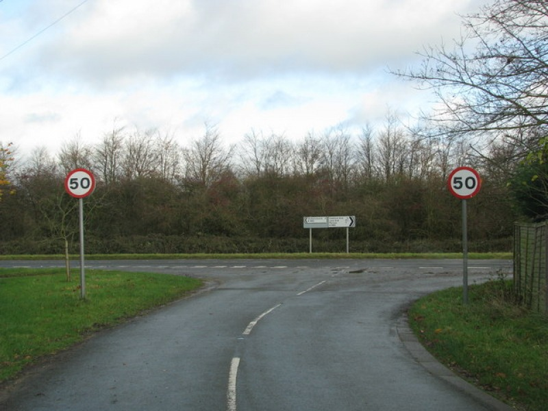 T-Junction on the B482