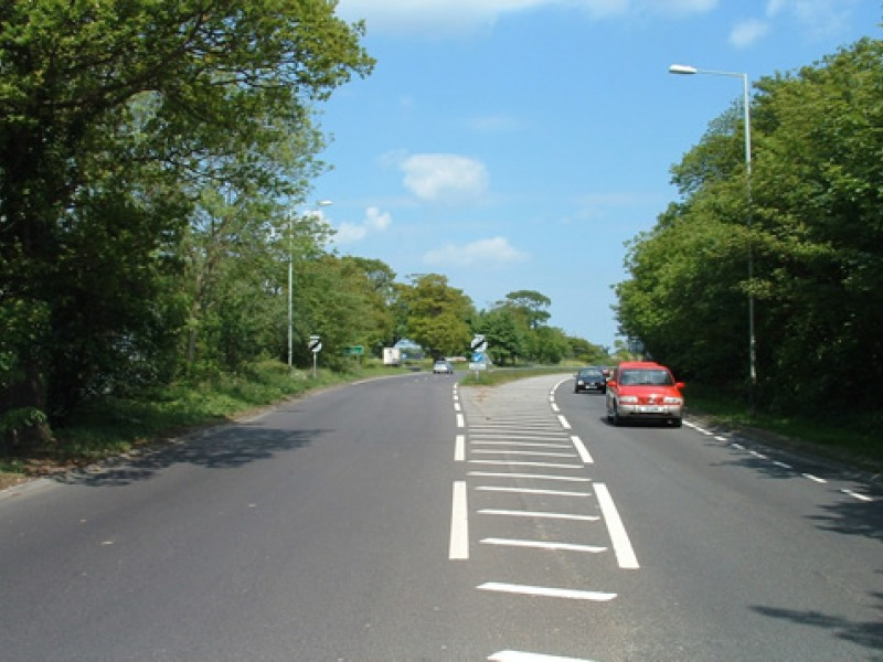 Clear wide open road