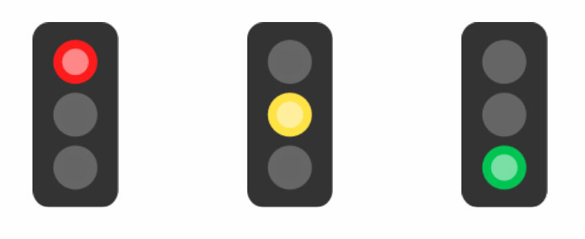 Traffic Lights - Driving Test Success Learner Plan