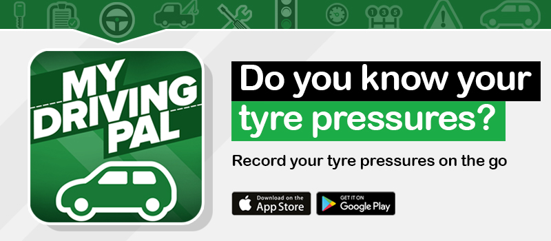 check your tyre tread included in My Driving Pal