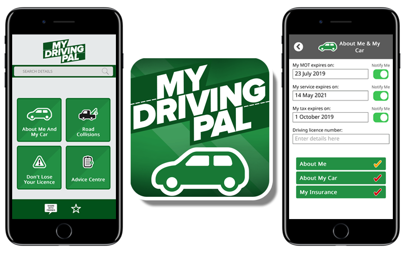know your speed limits with the My Driving Pal app