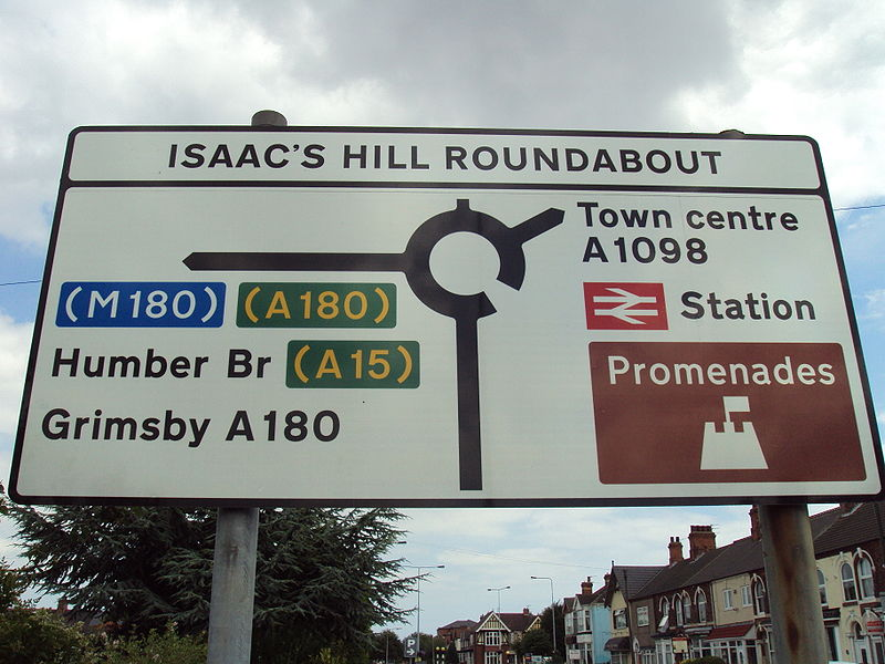 Isaac's Hill roundabout