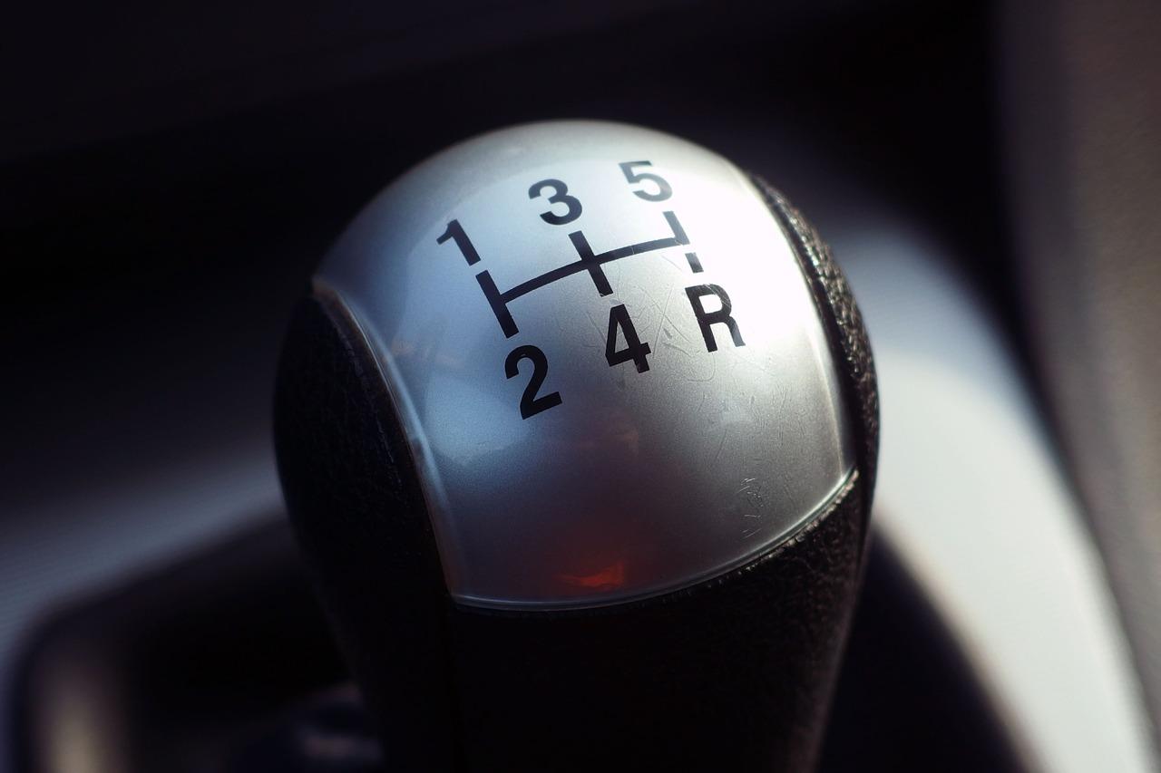 Car 5 gear stick