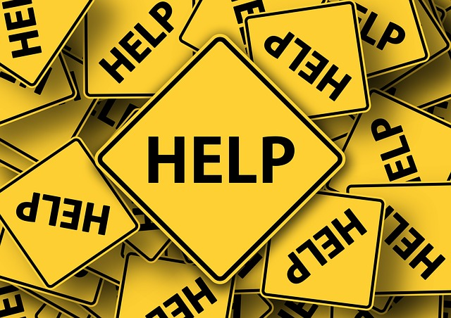 Help road signs