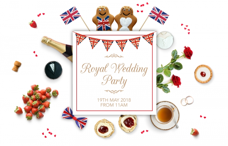 Royal Wedding Party in Cheshire