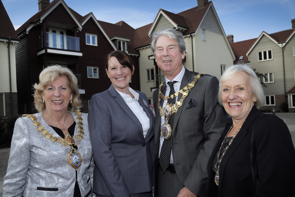Visitors to Inspired Villages Autumn Open Day in Warwick