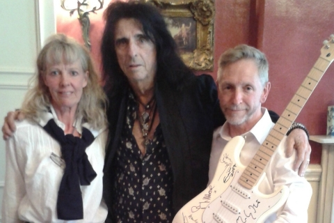 Alice Cooper signs up for Rainbows