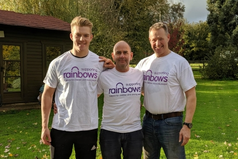 Ain't no mountain high enough for bereaved Kegworth father