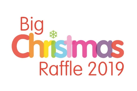 Big Christmas Raffle for Rainbows Hospice for Children and Young People