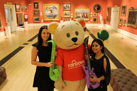 Rainbows Hospice's Silent Disco at Leicester Museum
