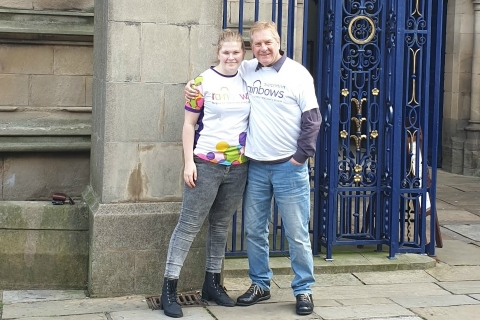 Derby's Mayor takes on Derby Cathedral abseil for Rainbows Hospice for Children and Young People