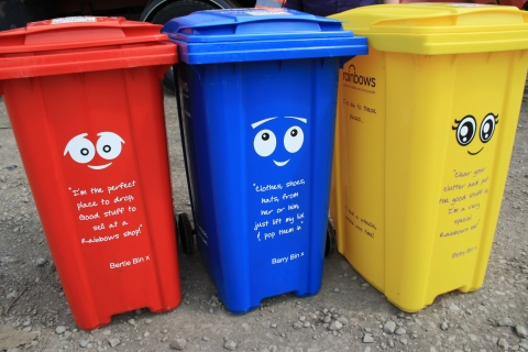 Where's it Bin by Rainbows Hospice