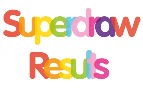 Superdraw Results for Rainbows Hospice