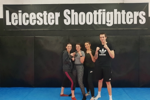 Leicester siblings getting into the boxing ring for Rainbows