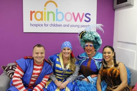 Peter Pan Panto comes to Rainbows Hospice for Children and Young People