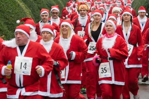 Loughborough Santa Fun Run