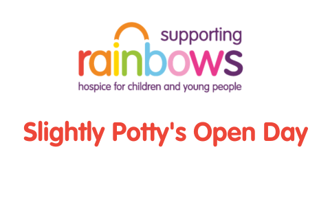 Supporting Rainbows Slightly Potty's Open Day