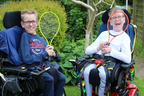 Nottingham Tennis 2019 in support of Rainbows Hospice for Children and Young People