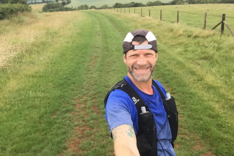 Mark Wilson has set a challenge of completing over 1,000 miles for Rainbows Hospice for Children and Young People