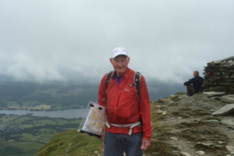 79-year-old grandfather plans to scale Kilimanjaro for Rainbows