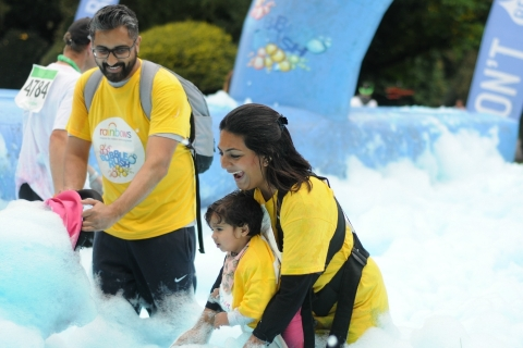 Leicester Bubble Rush