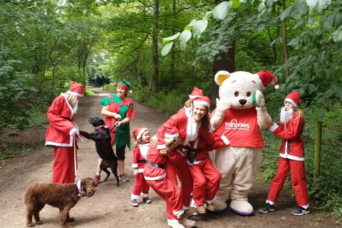 Santa Clauses and Santa Pawses needed for festive Derby run