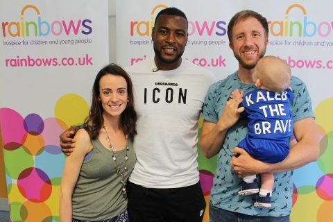 Wes Morgan Rainbows Visit