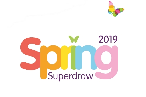 Spring Superdraw 2019 for Rainbows Hospice for Children and Young People