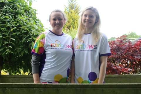Rainbows Hospice colleagues take on Great North Run