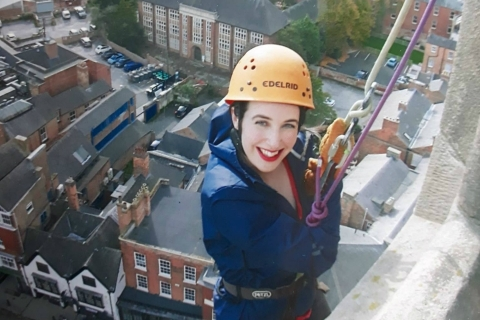 Rainbows Derby Abseil 2019
