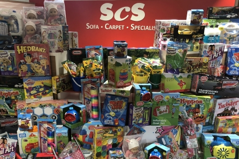 ScS Big Toy Bonanza for Rainbows Hospice for Children and Young People