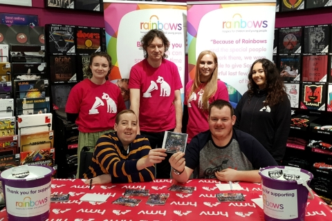 Rainbows visits HMV