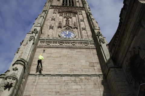 Derby Cathedral Abseil 2018