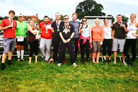 Equinox24 run in support of Rainbows Hospice for Children and Young People