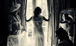Stuart Wood Weddings / Pennyhill Park Weddings / Thom & Malisa Window