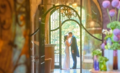 Stuart Wood Weddings / Pennyhill Park Weddings / Thom & Malisa Doorway