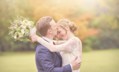 Stuart Wood Weddings / Thrumpton Hall Weddings / Ashley & Abby Hug