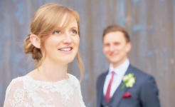 Stuart Wood Weddings / Thrumpton Hall Weddings / Ashley & Abby Smile