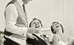 Stuart Wood Weddings / New Bath Derbyshire Wedding / Georgina And Simon Laugh