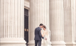 Stuart Wood Weddings / Suzie Turner Couture / Four Seasons Ten Trinity Square / Pillars 2