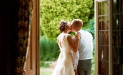 Stuart Wood Weddings / Callow Hall Weddings / Sally & Jason Door