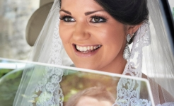 Stuart Wood Weddings / Hassop Hall Weddings / Lucy & Martin Car