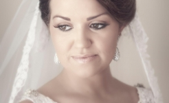 Stuart Wood Weddings / Hassop Hall Weddings / Lucy Portrait