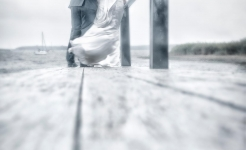 Stuart Wood Weddings / Christchurch Harbour Hotel Weddings / Keri & Jo Quay